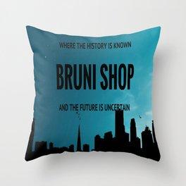 BS art Throw Pillow