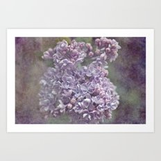 Your world for a moment... Art Print