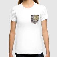 221b T-shirts featuring 221B Baker Street's Wall by nishasdk