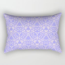 Lavender and Lace Rectangular Pillow