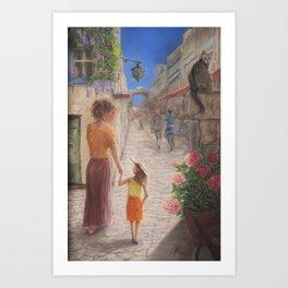 A Lisbon Story Art Print