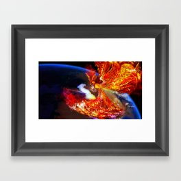 PHOENIX TEARS Framed Art Print