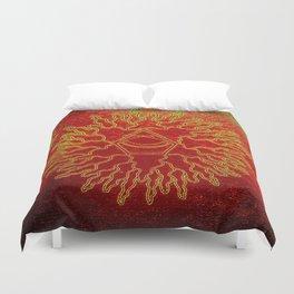 melting pineal Duvet Cover