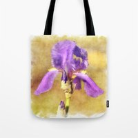 lily Tote Bags featuring Lily by Susann Mielke