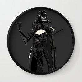 Lady Vader Wall Clock