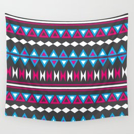 Pink N Blue Tribal Wall Tapestry