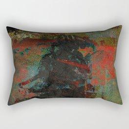 祇園の夜  (Gion's Night) Rectangular Pillow