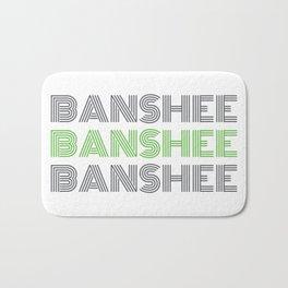 Banshee x3 - Gray/Green Bath Mat