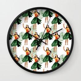 Hula spirit Wall Clock