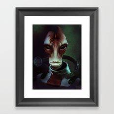 Mass Effect: Mordin Solus Framed Art Print