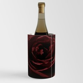 Textured Red Rose Wine Chiller