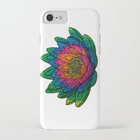 lotus flower iPhone & iPod Cases featuring Lotus  by Luna Portnoi