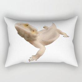 Semi Realistic Beardie Rectangular Pillow