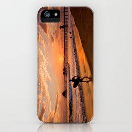 Surf City Sunsets   9/10/15   Huntington Beach California  iPhone Case