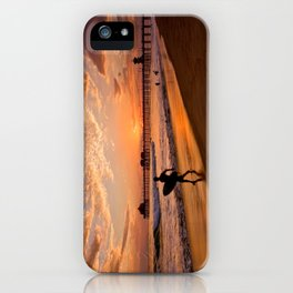 Surf City Sunsets   9/10/15   Huntington Beach California  iPhone Case