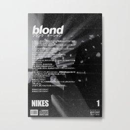 Frank Blond Vintage Nikes Metal Print