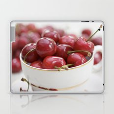 Cherries in a teacup Laptop & iPad Skin