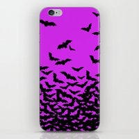 bats iPhone & iPod Skins featuring Bats by beach please