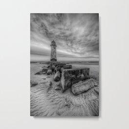 Talacre Light House 2 Metal Print