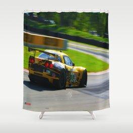 C6R | Road America Shower Curtain