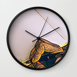 New Page Wall Clock