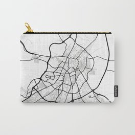 Valladolid Light City Map Carry-All Pouch