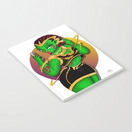 Alien B-Girl Selfie Notebook