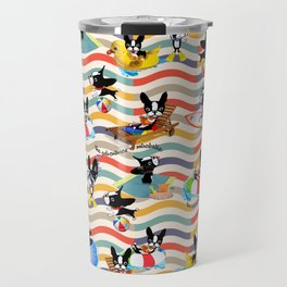 Mirabelle's day at the beach Travel Mug