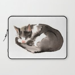 Cat, Sleeping Beauty, Cat design, Cat lover Laptop Sleeve