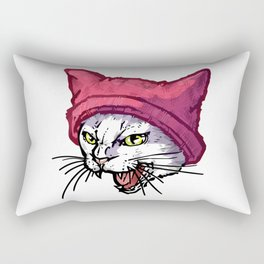 The Cat in the Hat (White) Rectangular Pillow