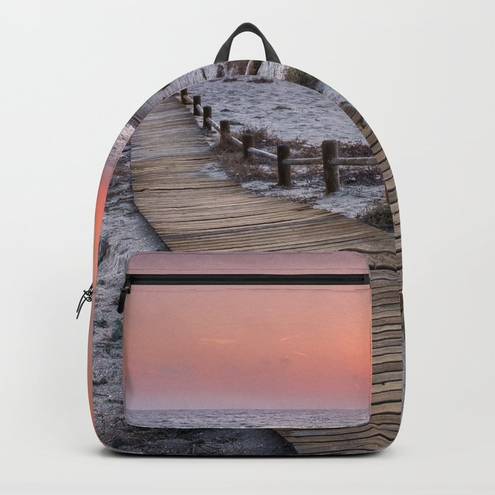 """To the beach...""Cabo de Gata"". Backpack"