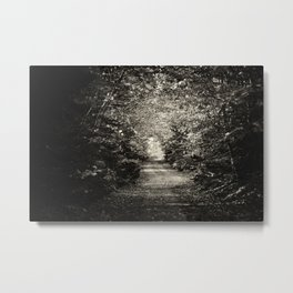 Creepy Road Metal Print
