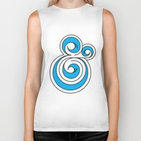 ampersand Biker Tanks featuring Ampersand by Micah Lanier