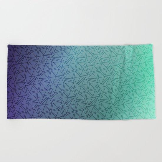 Gradient Web Beach Towel