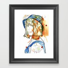 Portraits, Ann. Framed Art Print