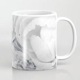 Elegant Peony Bouquet Gray Monochrome #decor #society6 #buyart Coffee Mug