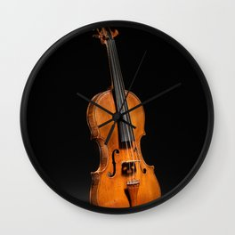 Historical Italian Cello Photograph (1560) Wall Clock