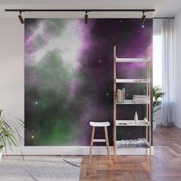 Purple Nebula Space Galaxy Wall Mural