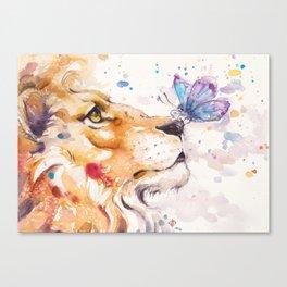Finn's Lion Canvas Print