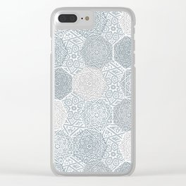 Silver Souk Clear iPhone Case