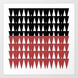 Luxury mauii triang. Art Print