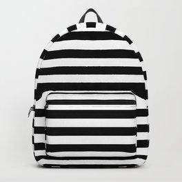 INTERLACING (BLACK-WHITE) Backpack
