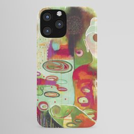 """Rooted In Love"" Original Painting by Flora Bowley iPhone Case"