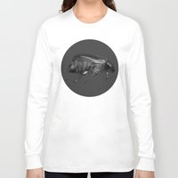 beetle Long Sleeve T-shirts featuring Beetle by Lauren Rakes