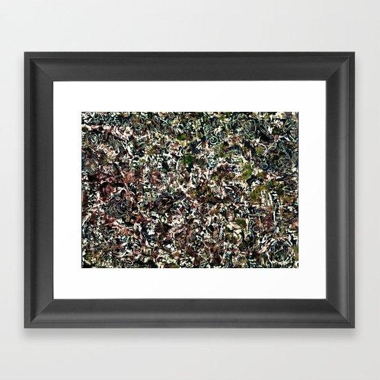 tribal. Framed Art Print