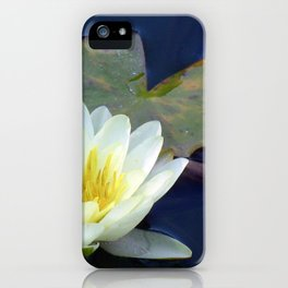 Water Lilly 2 iPhone Case