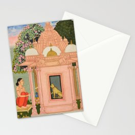Bangali Ragini - 17th Century Classical Indian Art Stationery Cards
