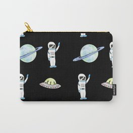 Space Pattern Carry-All Pouch