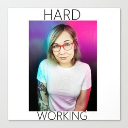Hard Working Brittany Canvas Print