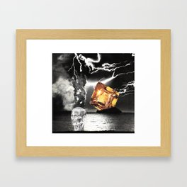 Leave Yr Ego Out Of This Framed Art Print